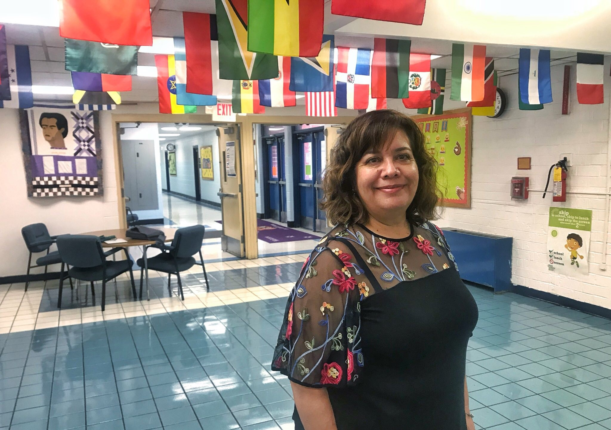 Celebrating Hispanic Heritage: César Chávez Dual Spanish Immersion School Principal Dr. Anna Santiago Addis is in her seventh year as an administrator and second year with Prince George's County Public Schools (PGCPS). Prior to joining PGCPS, she was a middle school principal in New Mexico.