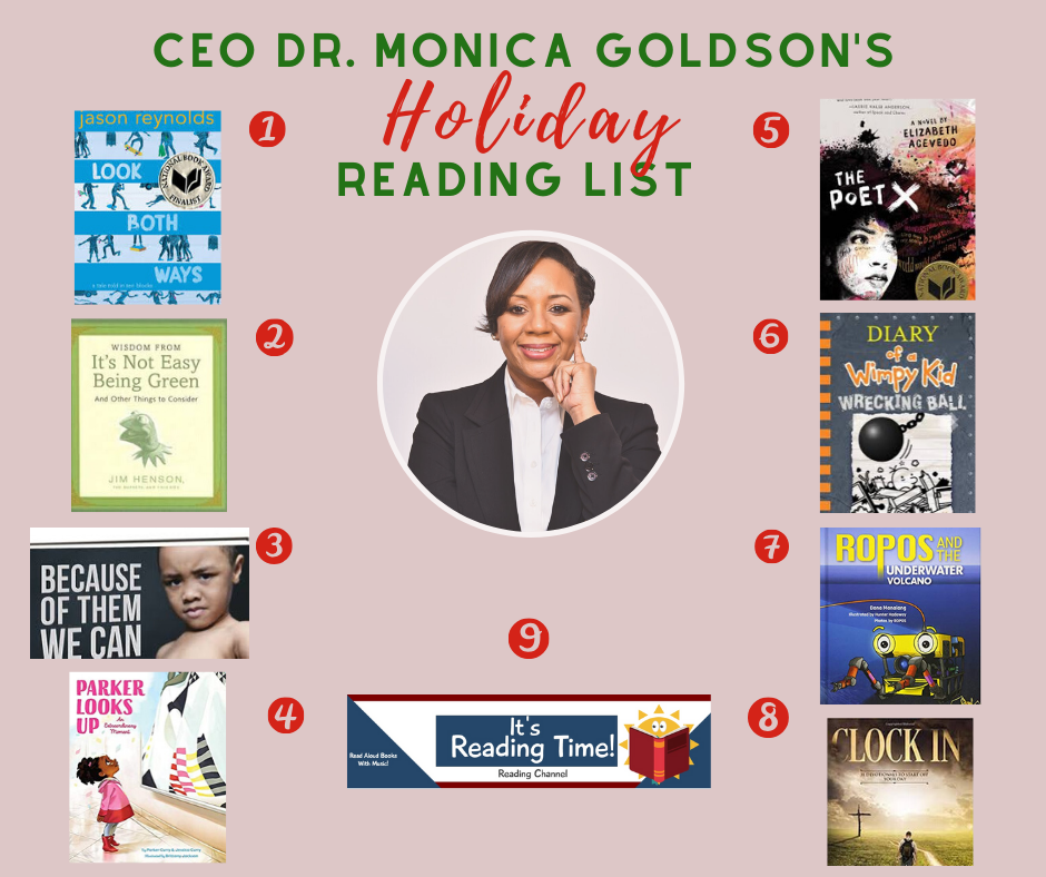 CEO Goldson holiday reading 2019-