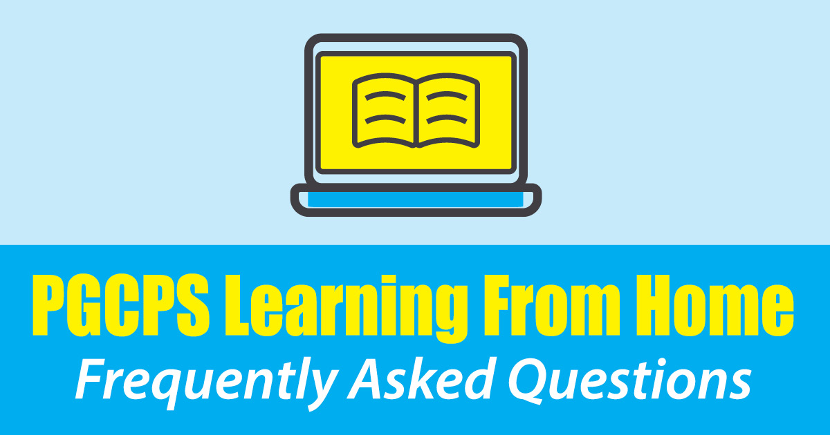 Learning from Home fAQ Promo Banner