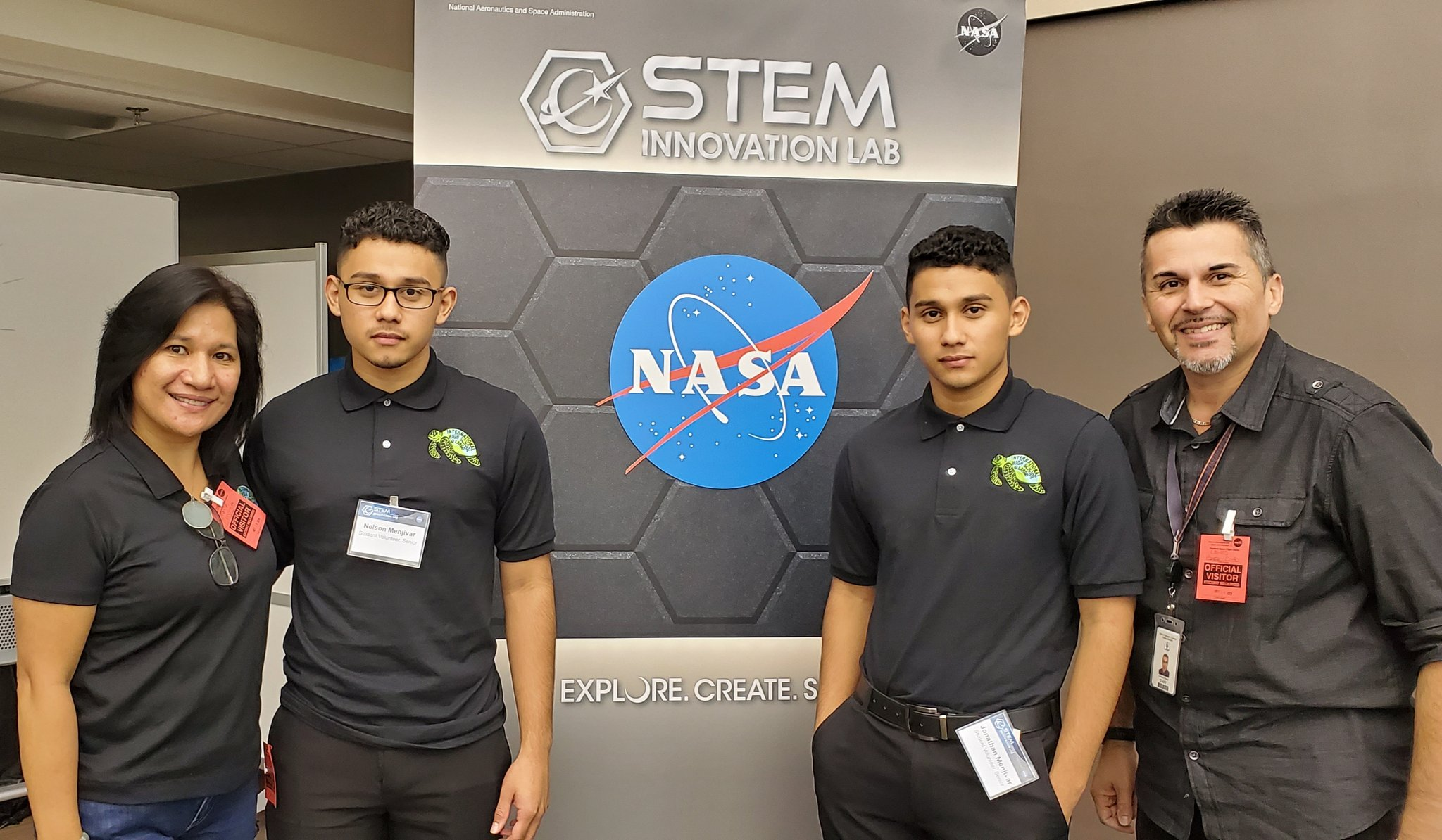 NASA STEM Lab Menjivar Twins