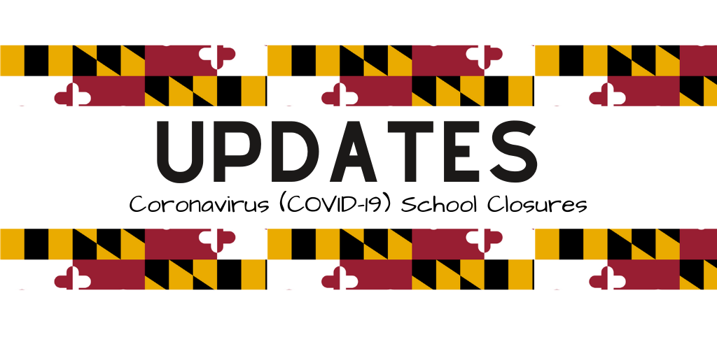 COVID 19 extended school closure update banner