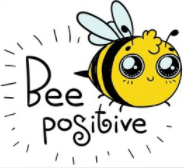 Bee positive small