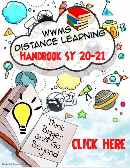 WWMS Distance Learning Handbook SY 20-21